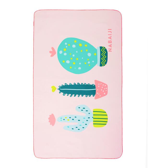 輕便印花微纖維游泳毛巾L號80 x 130 cm - 印花圖案