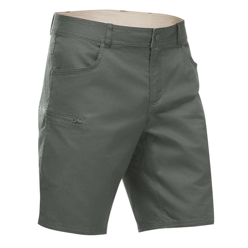 Férfi természetjárás rövidnadrág, póló Túrázás - Férfi rövidnadrág NH500 QUECHUA - Férfi túraruházat