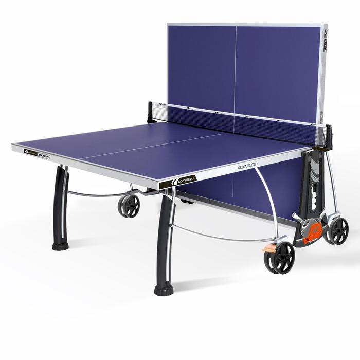 Tafeltennistafel outdoor 300S Crossover blauw - 200606