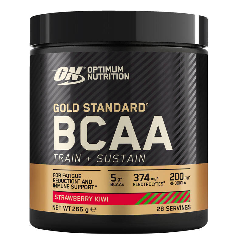 PROTEINY / DOPLŇKY STRAVY Doplňky stravy - OPTIMUM BCAA JAHODA KIWI 266 G OPTIMUM NUTRITION - Doplňky stravy