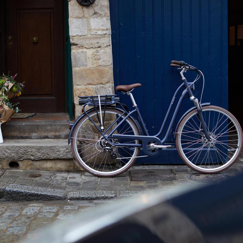 Bike on a wall