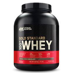 OPTIMUM NUTRITION Proteinpulver Whey Gold Standard Schokolade 2,2 kg