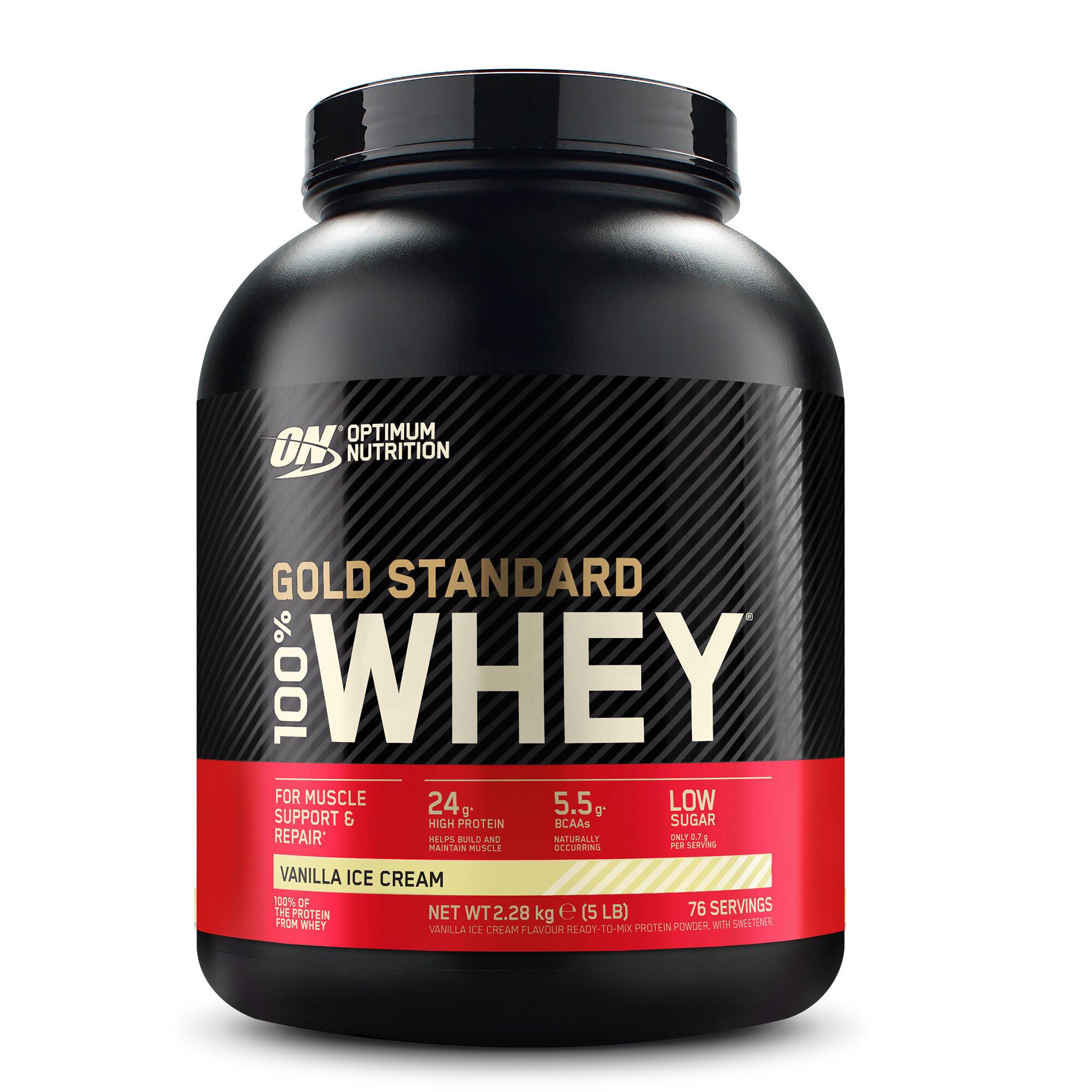 Whey GOLD STD ON Vanilie 2,2kg imagine