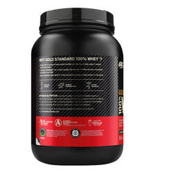 Proteine whey Gold Standard double rich chocolat 908gr