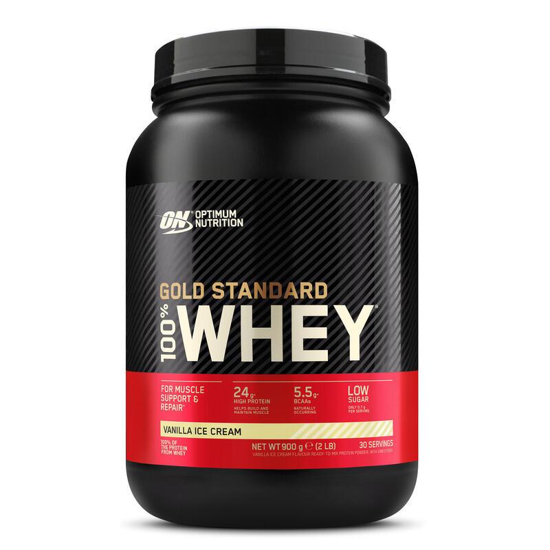 Proteine whey gold standard vanille ICE CREAM 908gr