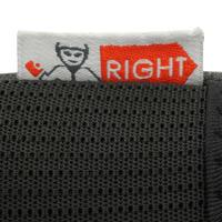 Protecciones patinaje adulto Kit 3 FIT500 negro gris