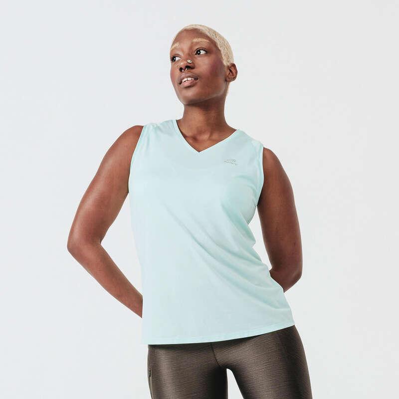 Női tavasz-nyári ruházat - alkalmankénti Futás - Női ujjatlan felső Run Dry  KALENJI - Futás