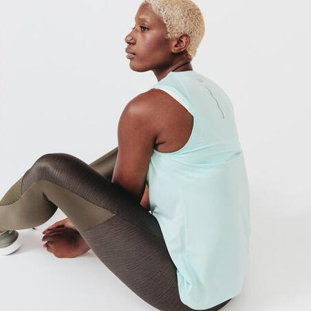 Camisole pour la course à pied RunDry vert clair – Femmes