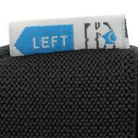 FIT500 Adult Inline Skating Skateboarding Scootering Protectors x 3 - Black/Blue