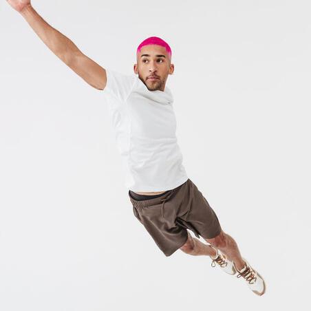 """Vīriešu skriešanas T krekls """"Run Dry"""", ledus balts"""