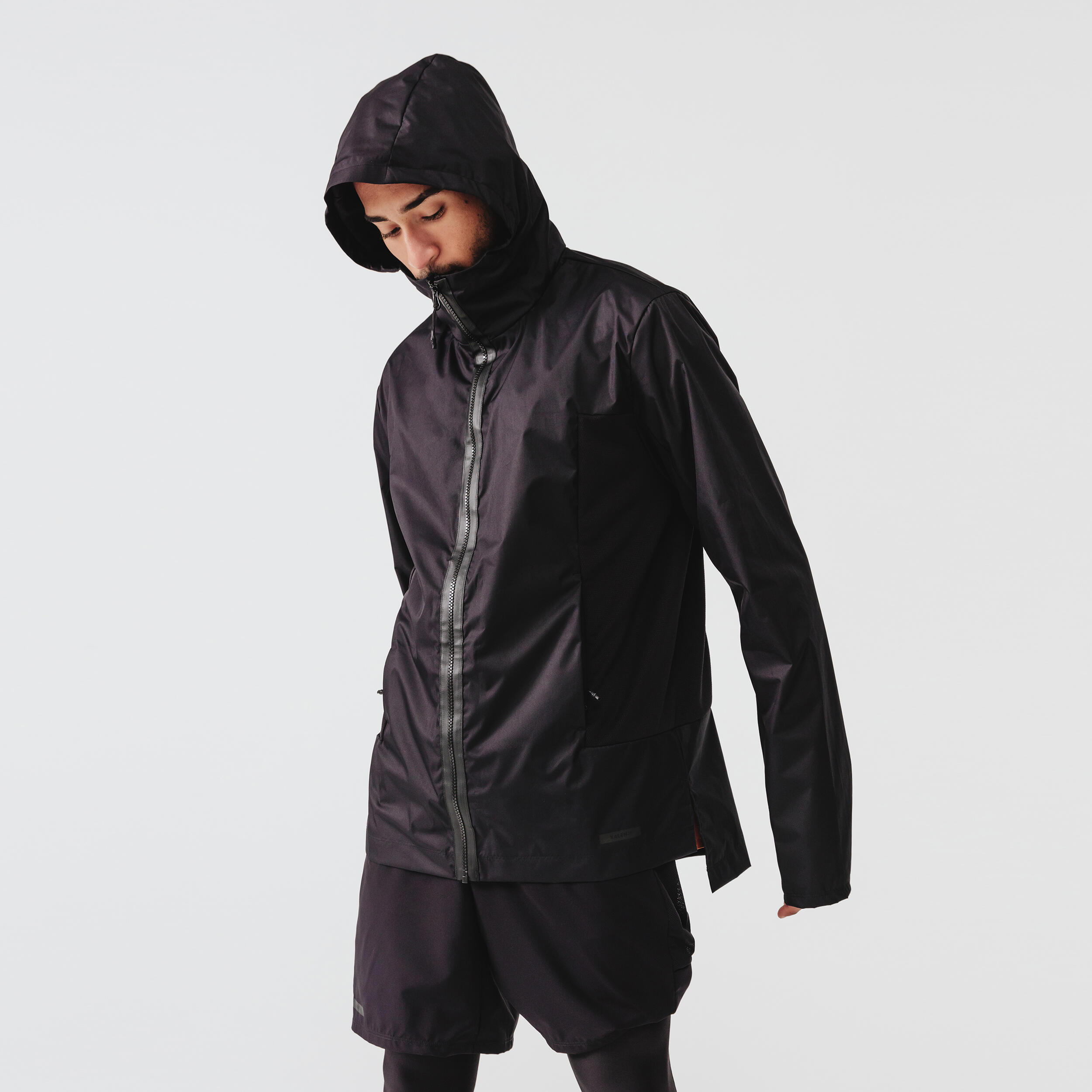 Jachetă Jogging Run Rain imagine