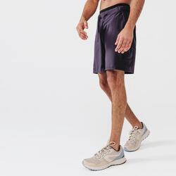 SHORT RUNNING RUN DRY + GRIS ABYSSES HOMME