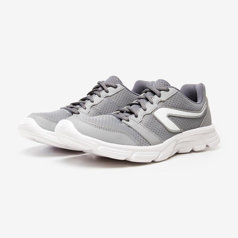 Erkek Gri Koşu Ayakkabısı / Hafif Tempolu Koşu - RUN 100
