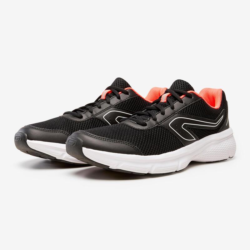 Kadın Siyah Koşu Ayakkabısı / Hafif Tempolu Koşu - RUN CUSHION
