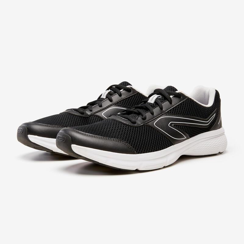 Erkek Siyah Gri Koşu Ayakkabısı / Hafif Tempolu Koşu - RUN CUSHION