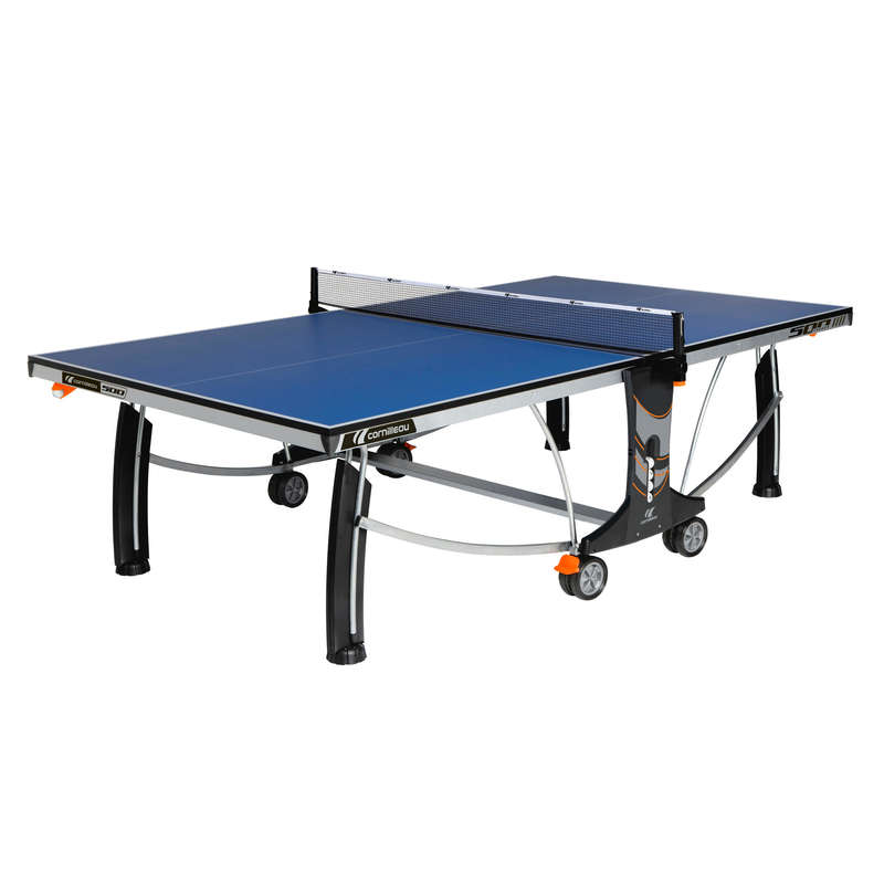 ACADEMIC TABLES Table Tennis - 500 INDOOR TABLE TENNIS TABLE - BLUE CORNILLEAU - Table Tennis Tables