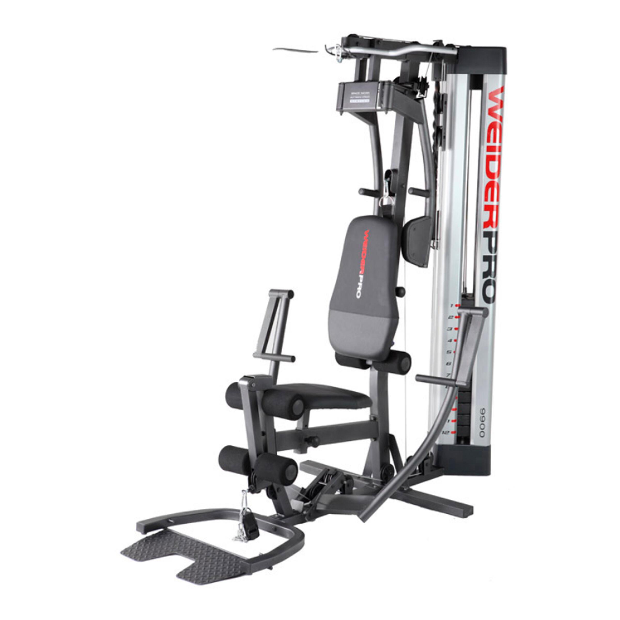 PRODUCTO OCASIÓN: Multiestación Musculación Weider Pro 9900I