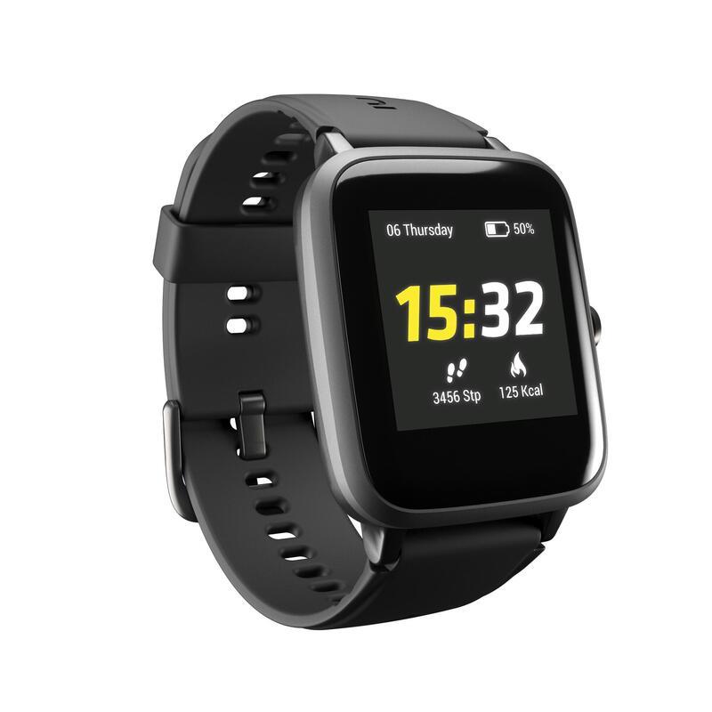 Běžecké hodinky s měřením tepové frekvence CW700 HR černé