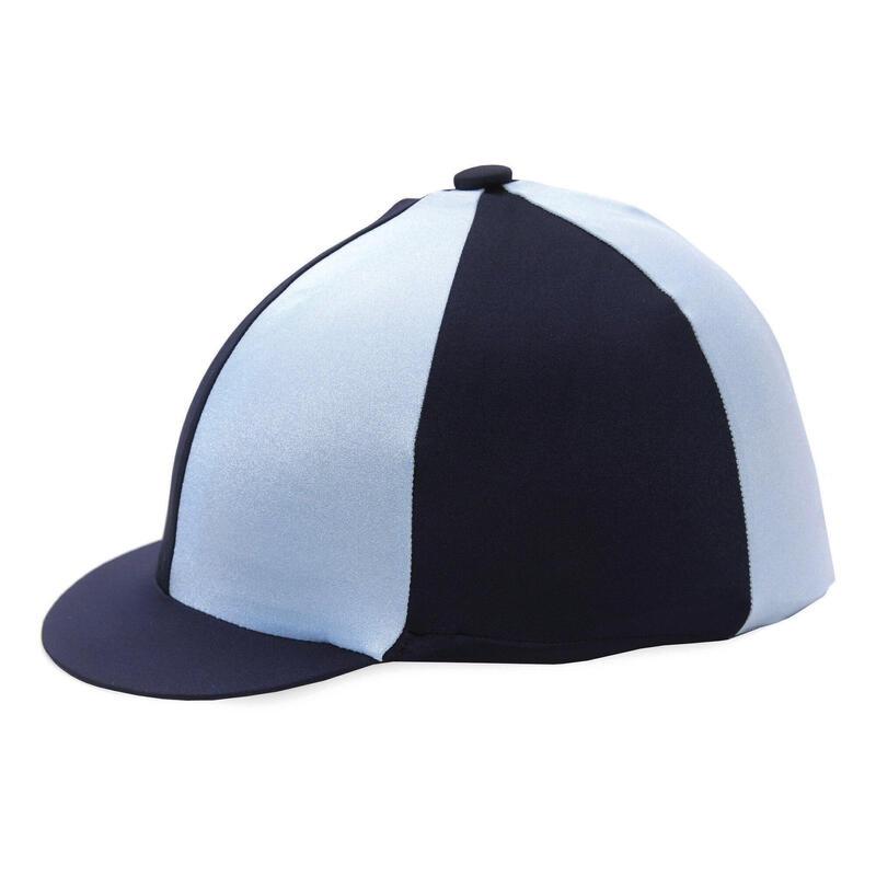 Hy hat silk Navy Pale blue