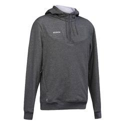 Sweatshirt voor veldhockey heren FH500 grijs