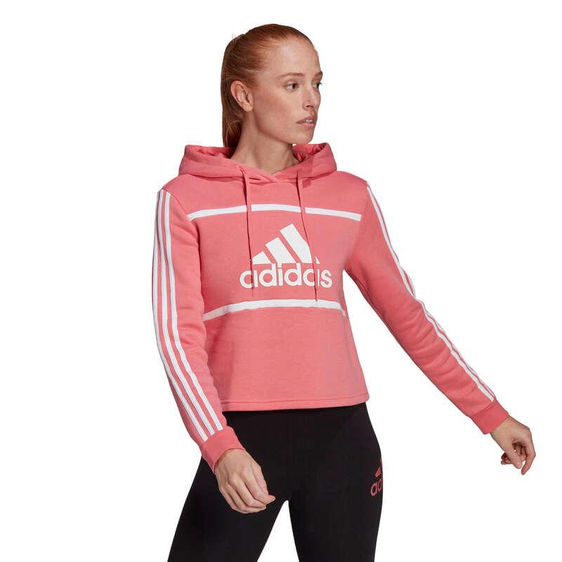 NŐI NADRÁG, PULÓVER Fitnesz - Női Adidas pulóver ADIDAS - Fitnesz