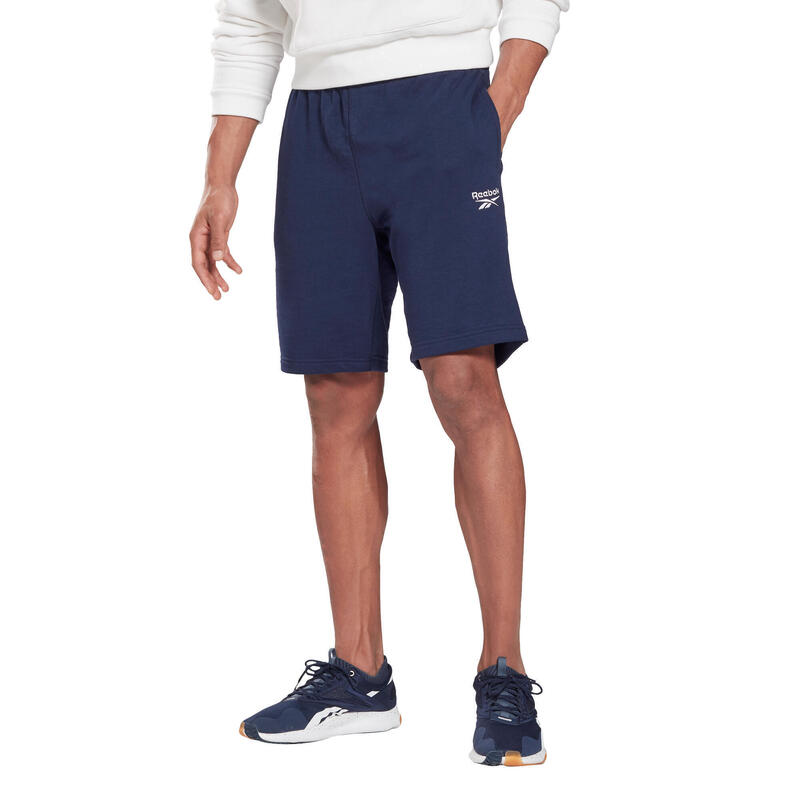 Short Reebok Fitness Slim Identity Bleu Marine