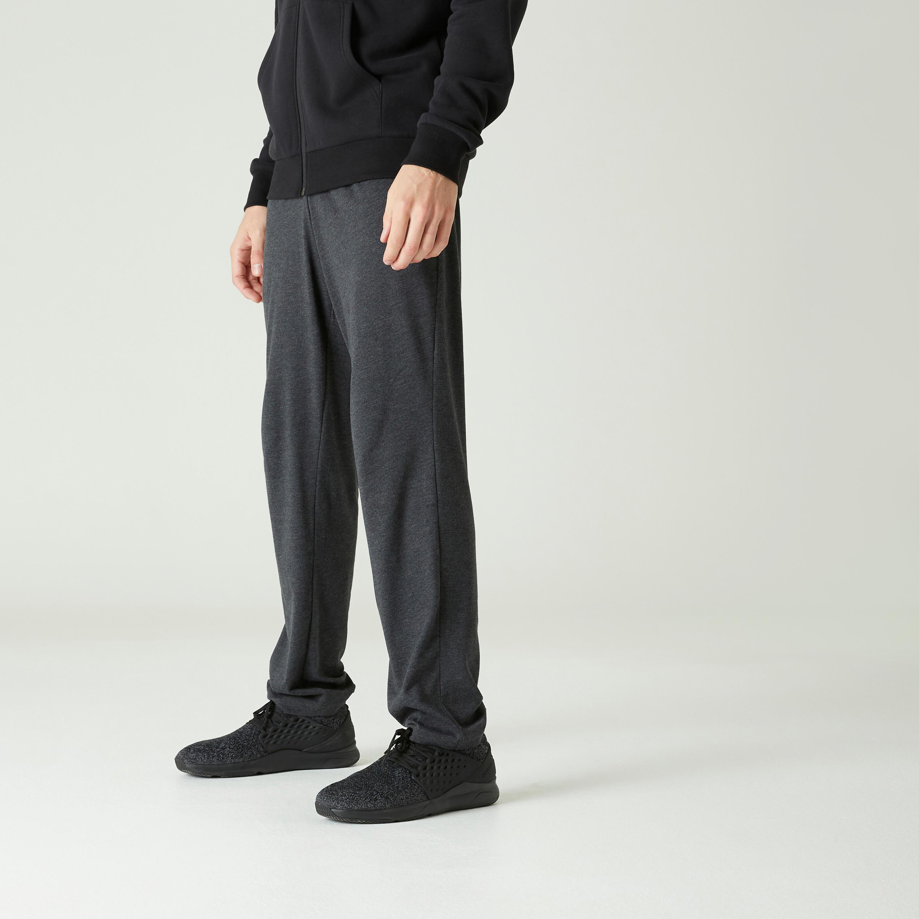 Pantalon regular 100 bărbați imagine