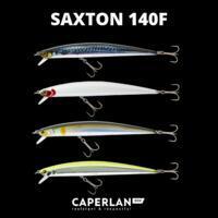 """Vobleris jūrinei žvejybai """"Saxton 140F"""", raudona galva"""