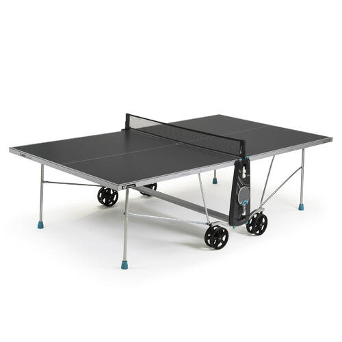 TABLE DE PING PONG FREE 100X OUTDOOR GRISE
