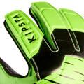 VYBAVENÍ PRO BRANKÁŘE Fotbal - DĚTSKÉ RUKAVICE F100 RESIST KIPSTA - Vybavení pro brankáře