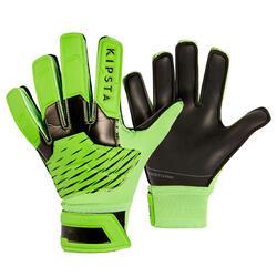 Keepershandschoenen voor kinderen F100 RESIST zwart/groen