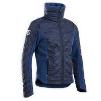 """Vaikiškas šiltas jojimo džemperis iš dviejų medžiagų """"100 Warm"""", mėlynas"""
