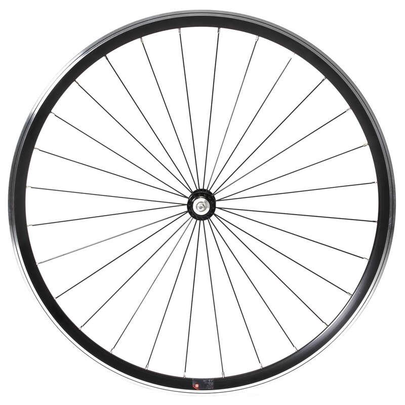 Országúti kerekek Kerékpározás - Országúti kerékpár első kerék  TRIBAN - Alkatrész, tárolás, karbantartás