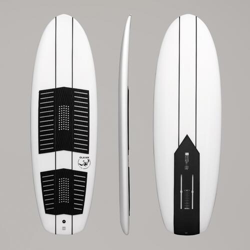 Planche de surf foil 500 6 pieds blanc / noir