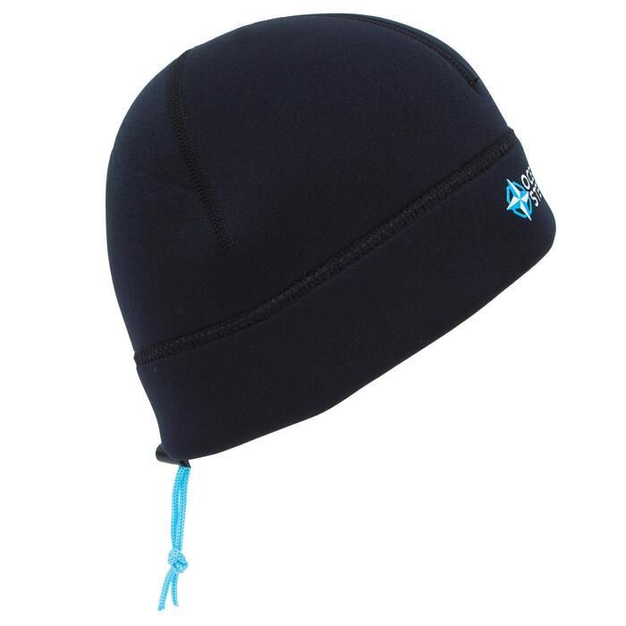 Bonnet néoprène 3mm longe côte noir