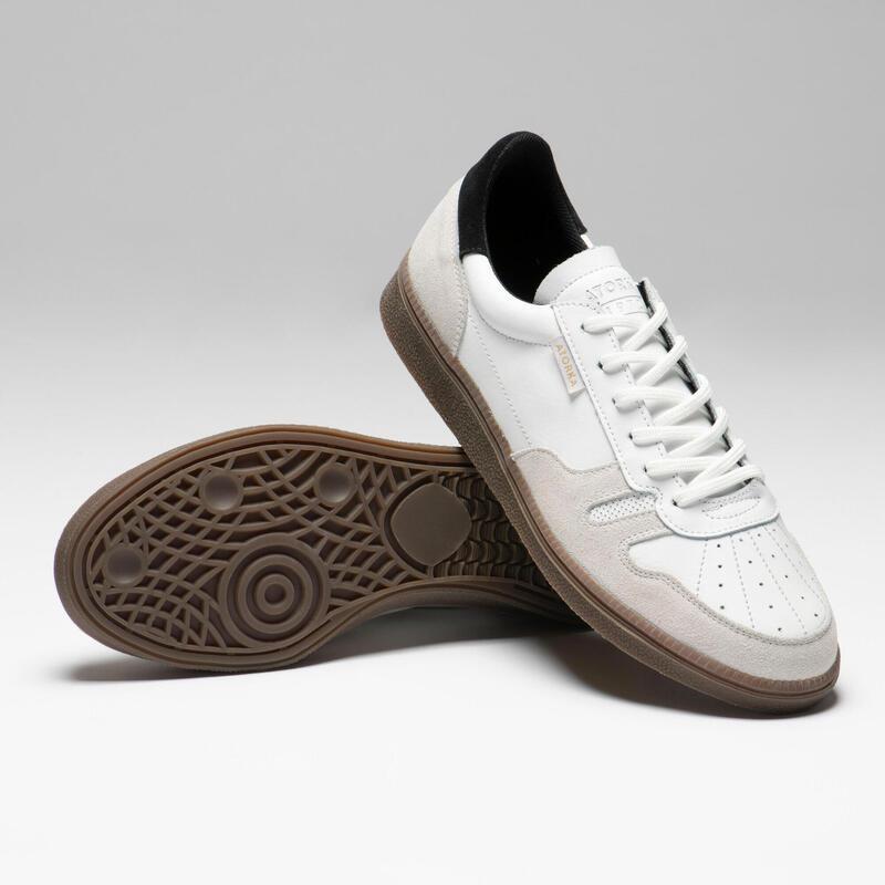Keepershandbalschoenen voor volwassenen GK500 wit/zwart