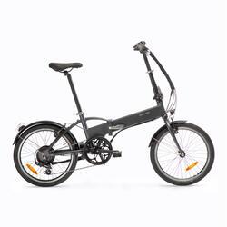 E-Bike Faltrad Klapprad 20 Zill Tilt 500E schwarzgrau