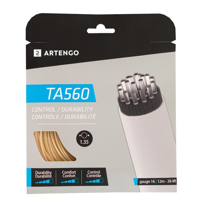 Multifilament Tennis String TA 560 Control 1.35mm - Beige