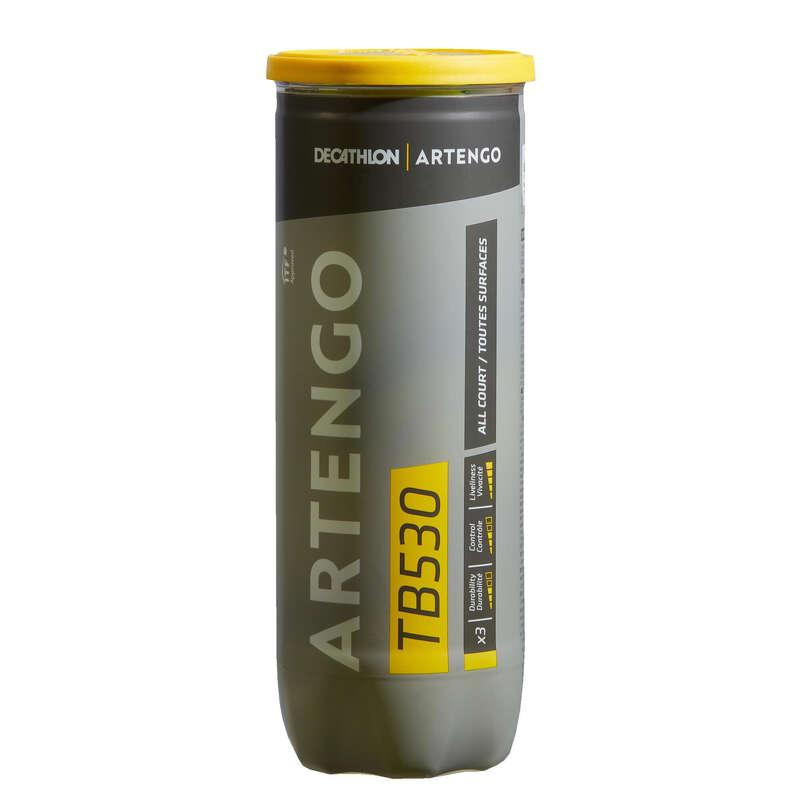 TENISKE LOPTICE Tenis - Teniske loptice TB530 3 kom  ARTENGO - Oprema za tenis