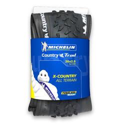Pneu BTT Michelin Country Trail TLR 26X20 Talão Flexível
