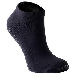Antislip sokken voor fitness zwart