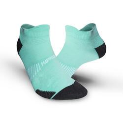 隱形跑步襪RUN900 FINE - 藍綠色