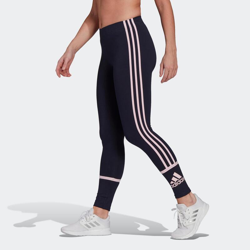 Legging Adidas Fitness Colorblock Bleu Marine