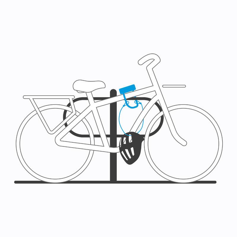 Mini Cable Bike D-Lock Set 900