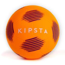 Ballon de football Sunny 300 taille 5 orange noir