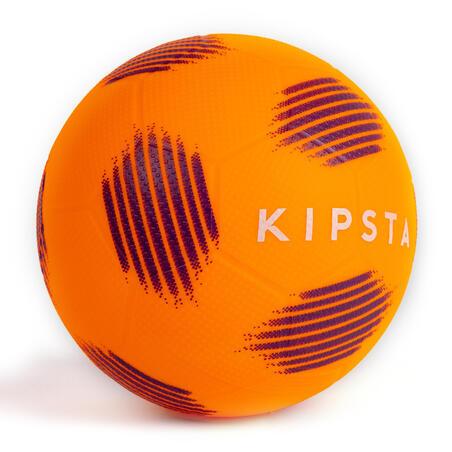 Balón de fútbol Sunny 300 talla 5 Naranja Negro
