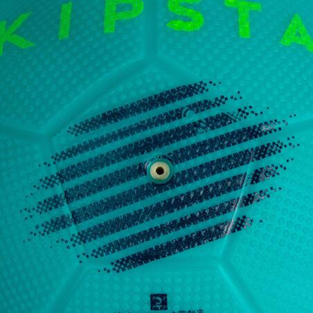 Minibalón de fútbol Sunny 300 talla 1 azul turquesa