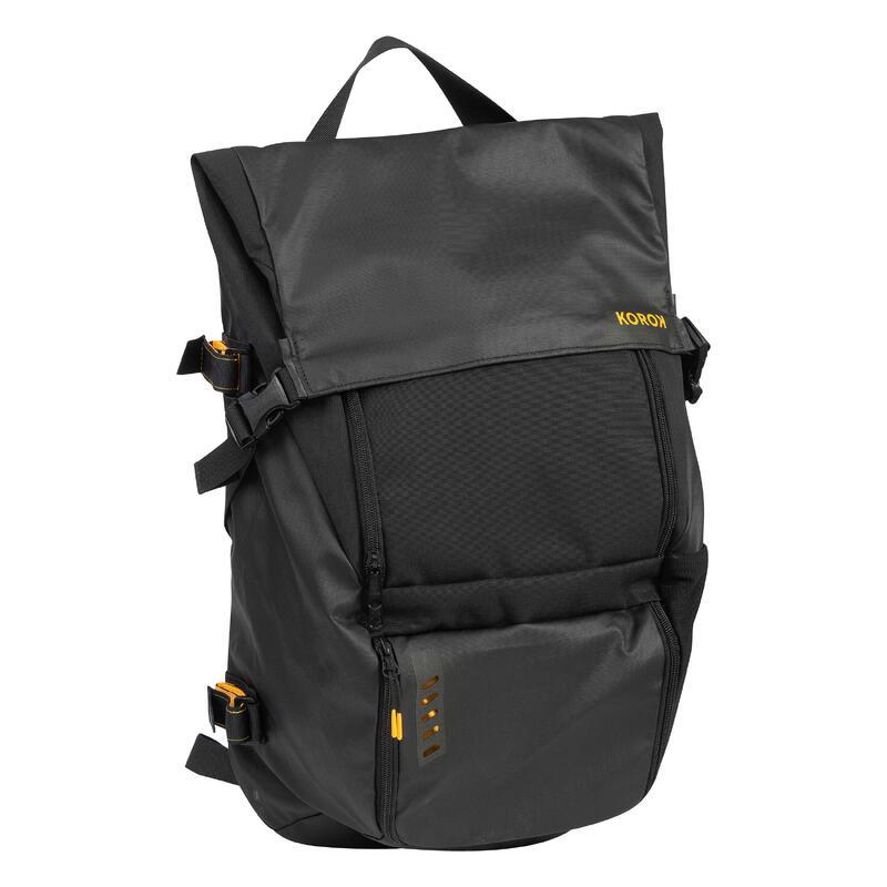 Kids'/Adult Field Hockey Backpack FH500 - Black/Yellow