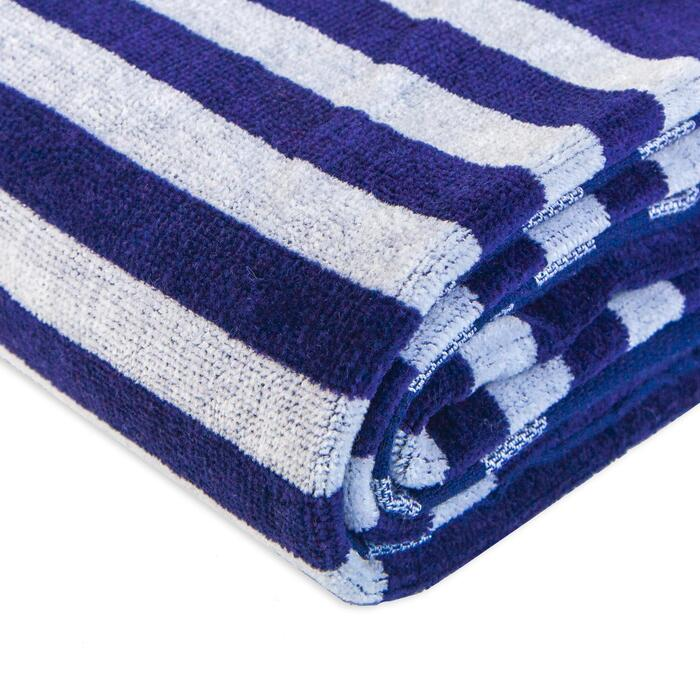 Toalha de Praia 86x170 Azul
