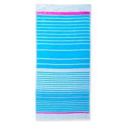 Toalha Praia 86x170 Azul Claro